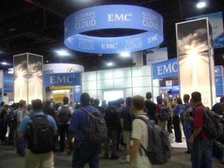 EMC booth