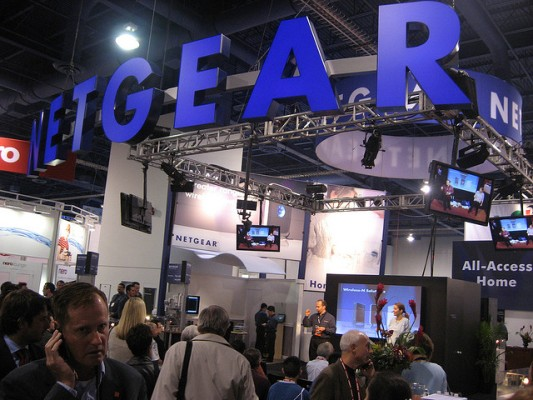Netgear booth flickr
