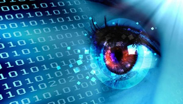 Stream of digital data and eye