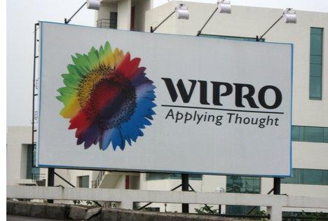Wipro hoarding