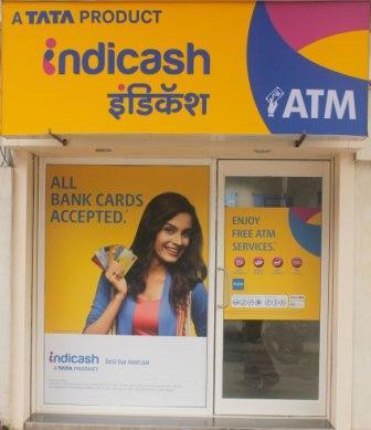Indicash – First White Label ATM at Indiranagar, Bangalore