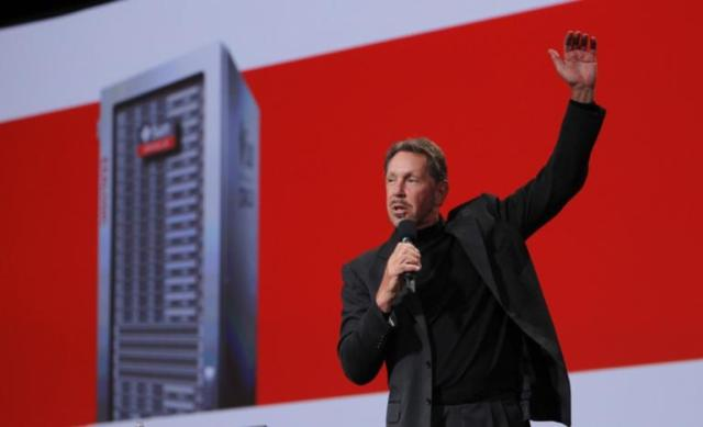 Oracle CEO Larry Ellison on Q2 revenue