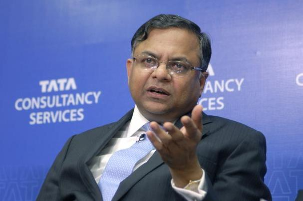 TCS Chief Executive Officer N Chandrasekaran