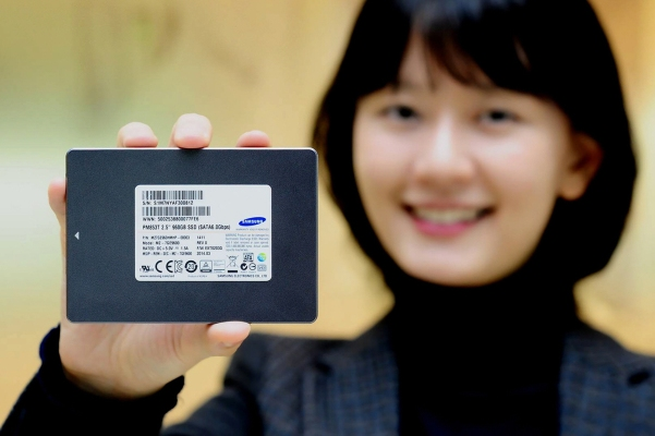 Samsung kthree-bit-NAND-based SSD