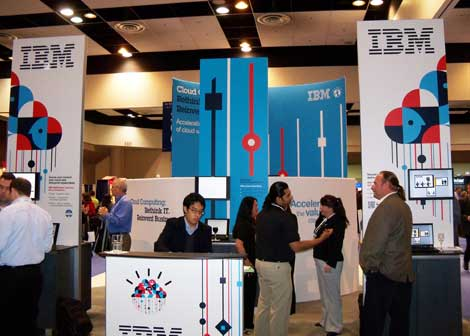 IBM booth