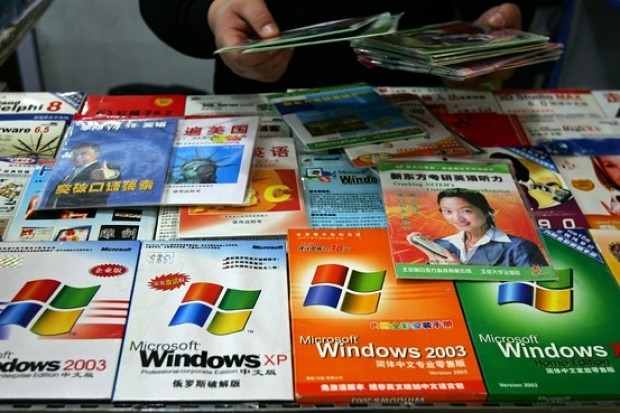 Pirated software market