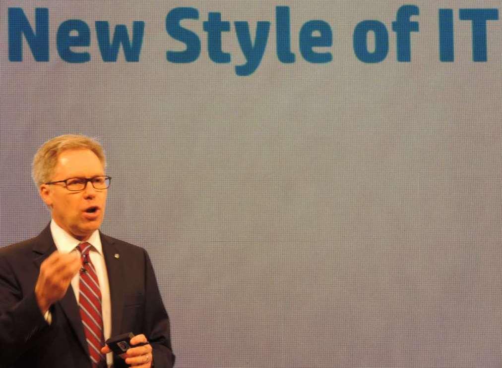 Bruce Pahlgren, senior vice president, enterprise, HP
