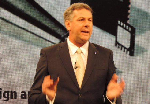 HP vice president - servers Stephen Bovis