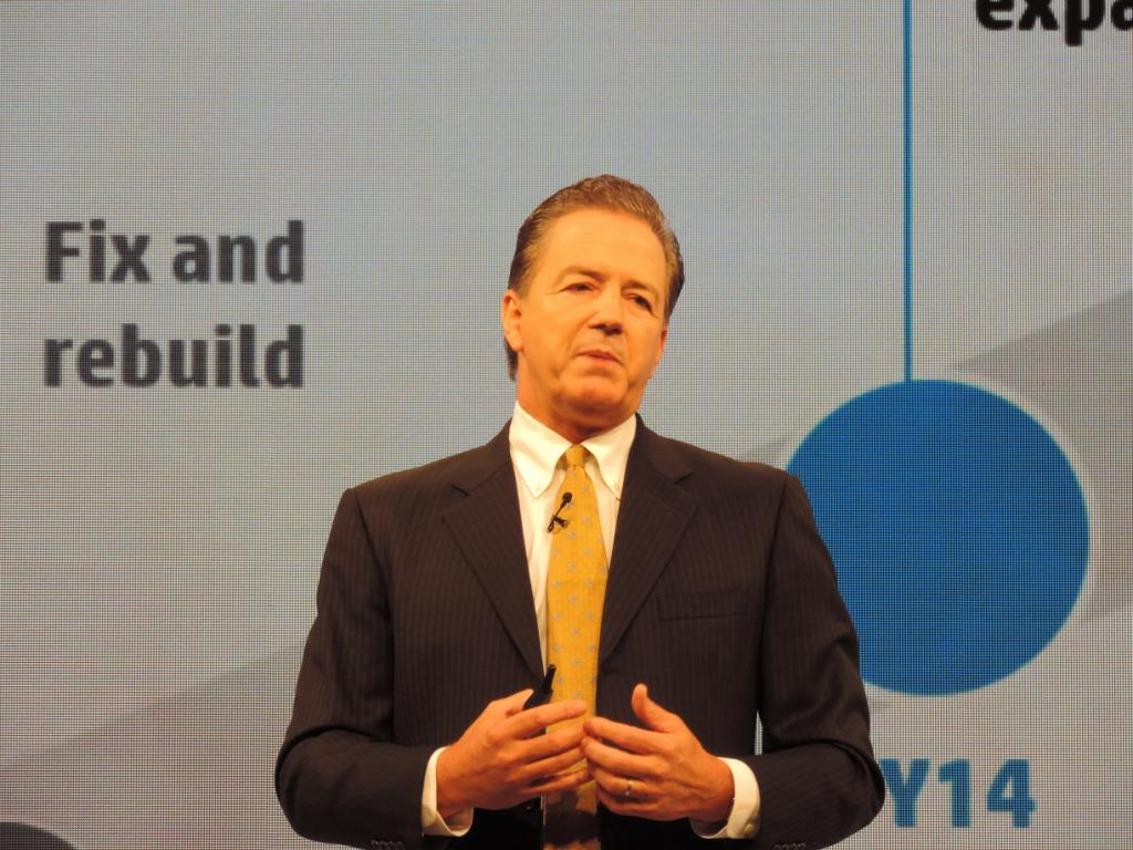 Jim Merrit, senior vice president, enterprise group, HP