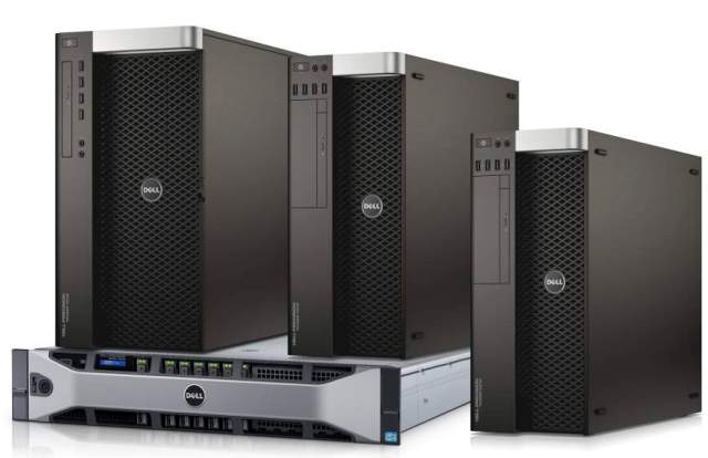 New Dell Precision Tower and Rack Workstations