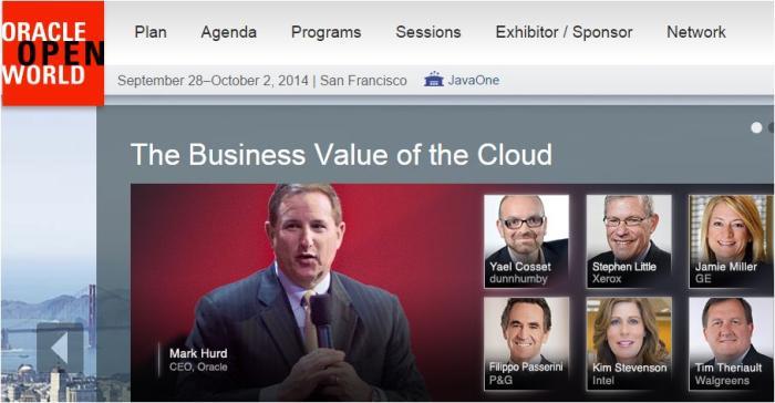 Oracle Open World 2014
