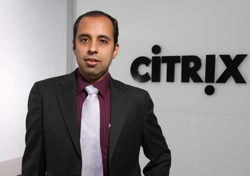 Parag Arora, area vice president at Citrix