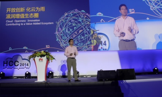 Patrick Zhang, President of Marketing and Solutions, P&S, Huawei