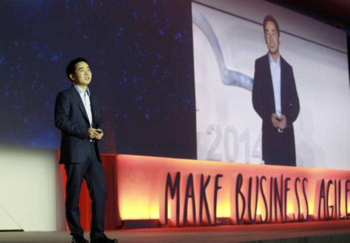 Ren Zhipeng, President of Huawei's IT Cloud Computing Product Line