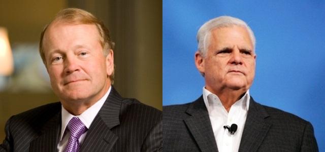 Cisco and EMC CEOs