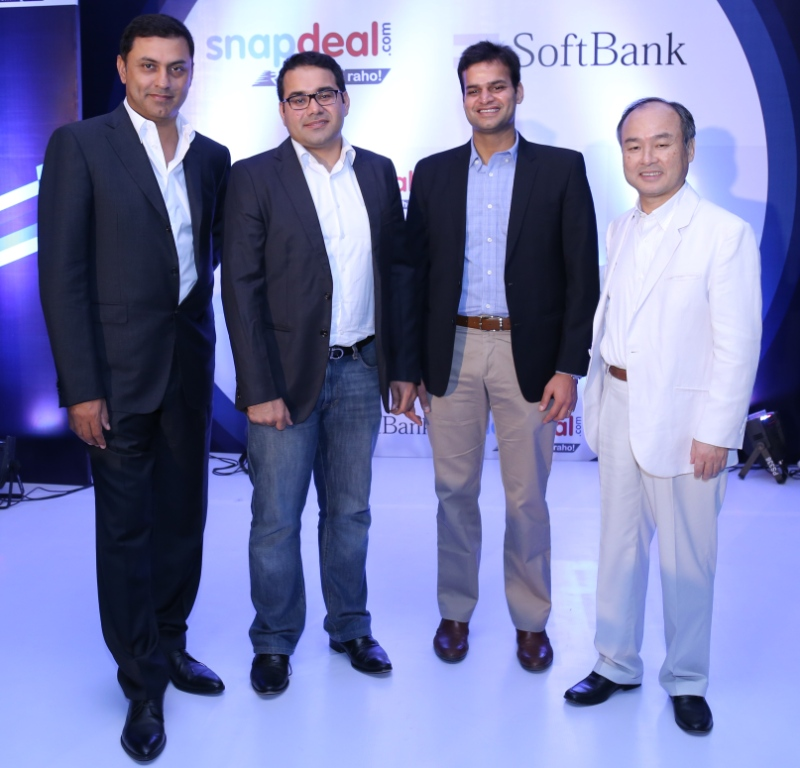 Snapdeal $627 million investment from SoftBank