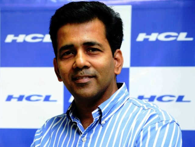 HCL Services chief of channel services P Madhavan