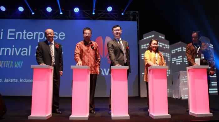 Huawei Enterprise ICT Carnival 2014 in Jakarta