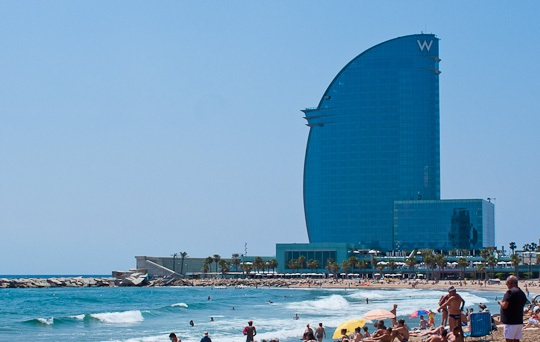 IBM Smart City deal with Barcelona for beach