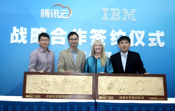 IBM in cloud deal with Tencent