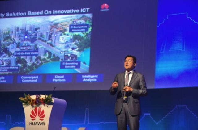 Zhang Hongxi, Vice President of Huawei's Northern Latin America Region