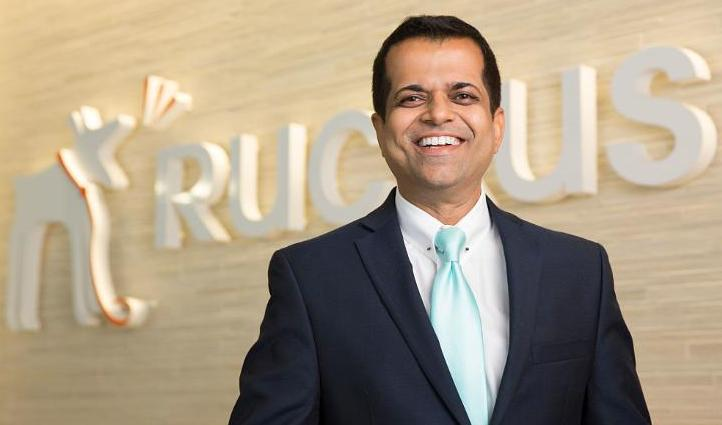 Ruckus Wireless marketing head Kash Shaikh