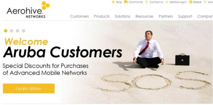 Aerohive Networks offers