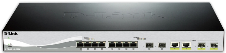 D-Link 10 Gig Web Smart Switches