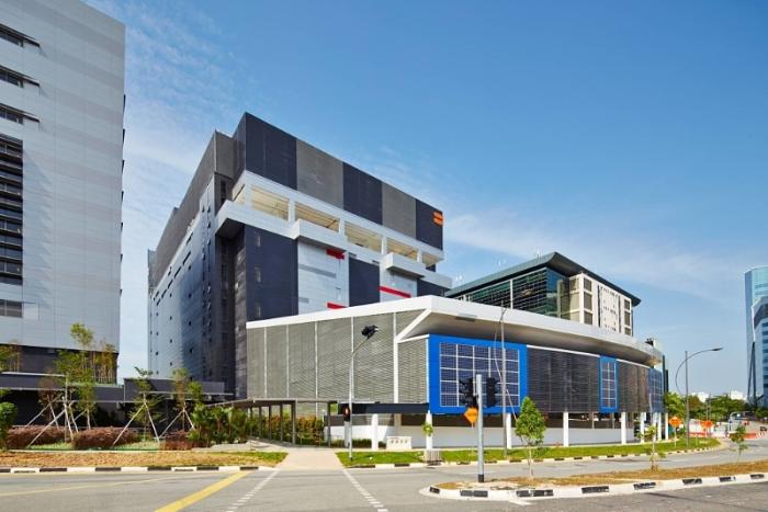 Equinix data center in Singapore