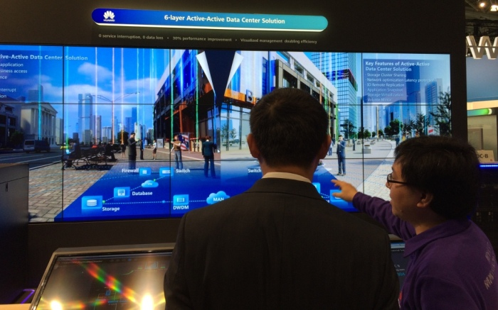 Huawei showcases Active-Active Data Center Solution at CeBIT 2015