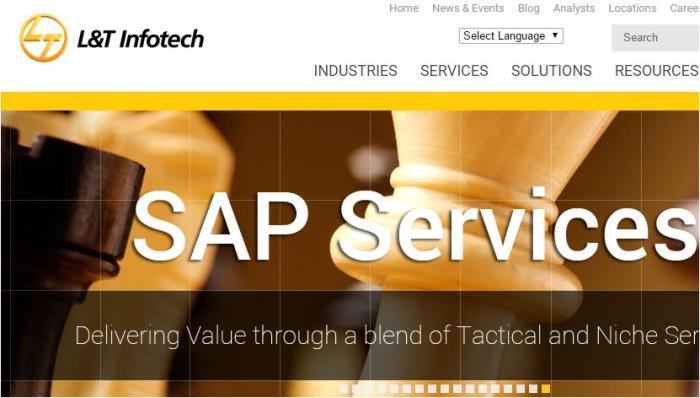 L&T Infotech SAP ERP deals