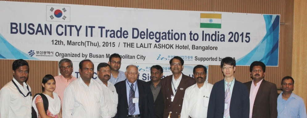 SME Chapter of MAIT and Busan City IT Trade Delegation to India in Bengaluru
