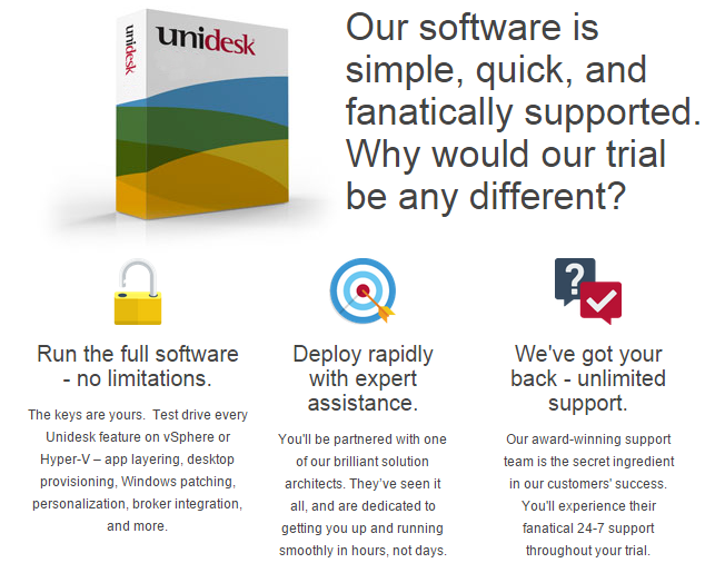 Unidesk 3.0 launched