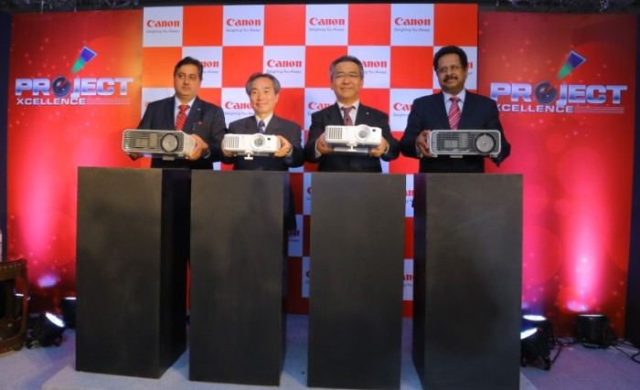 Canon India press meet