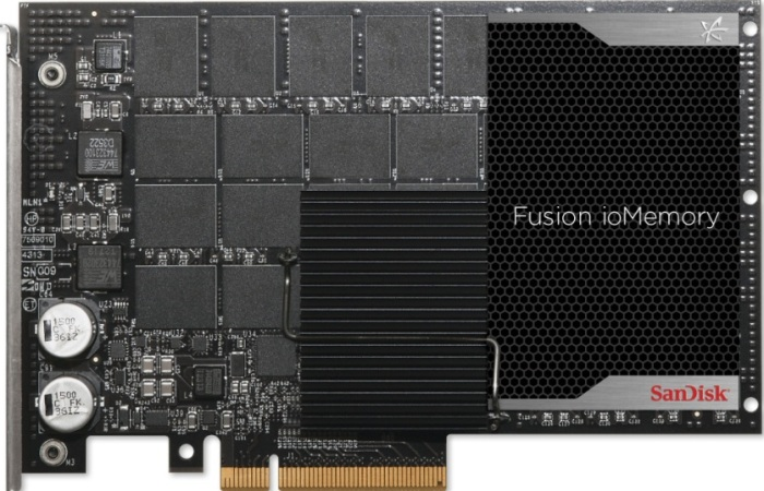 SanDisk Fusion ioMemory PCIe Application Accelerators