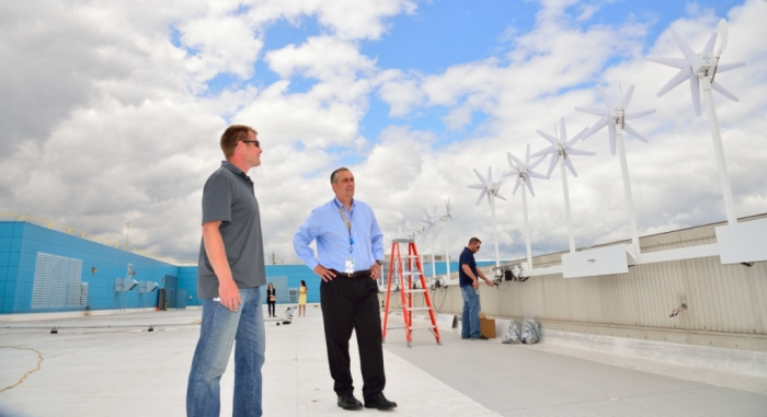Intel plans wind power project
