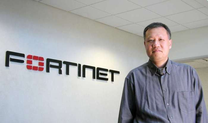 Ken Xie, founder, chairman and CEO of Fortinet