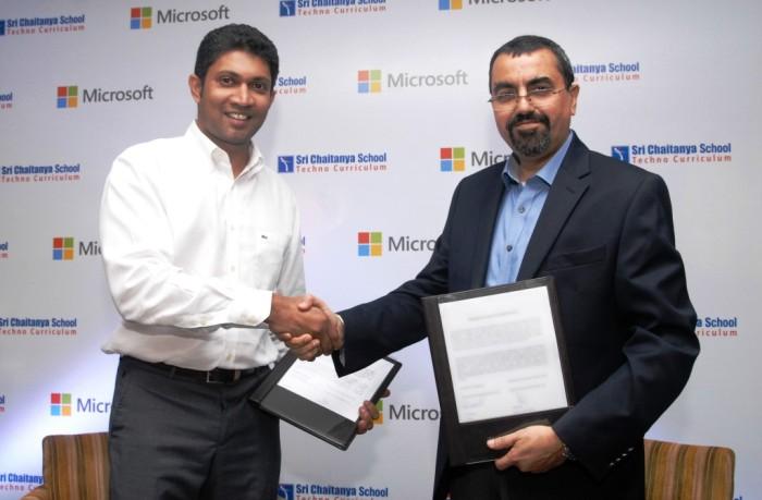 Microsoft Windows tablets power Sri Chaitanya Schools digital program
