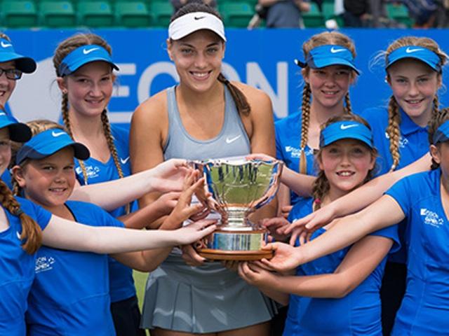 Ana Konjuh has won the Aegon Open Nottingham