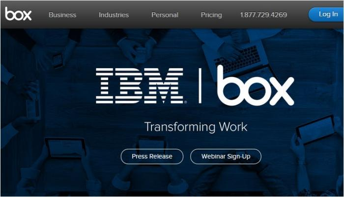 IBM Box deal