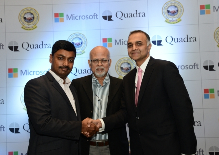 Microsoft in pact with Chennai association to boost IT biz