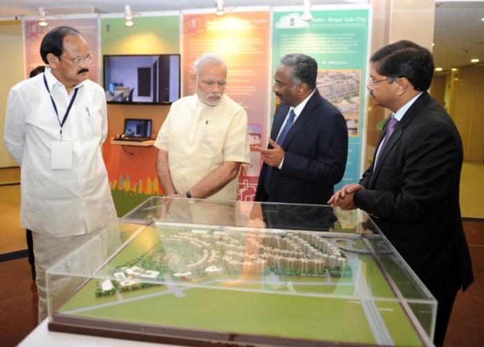 PM Modi announces smart city mission