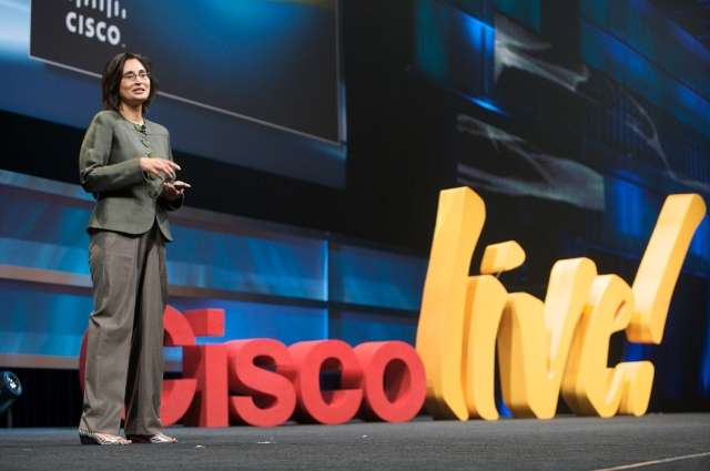 Padmasree Warrior of Cisco