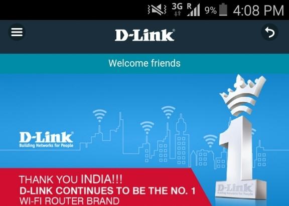 D-LINK CONNECT App