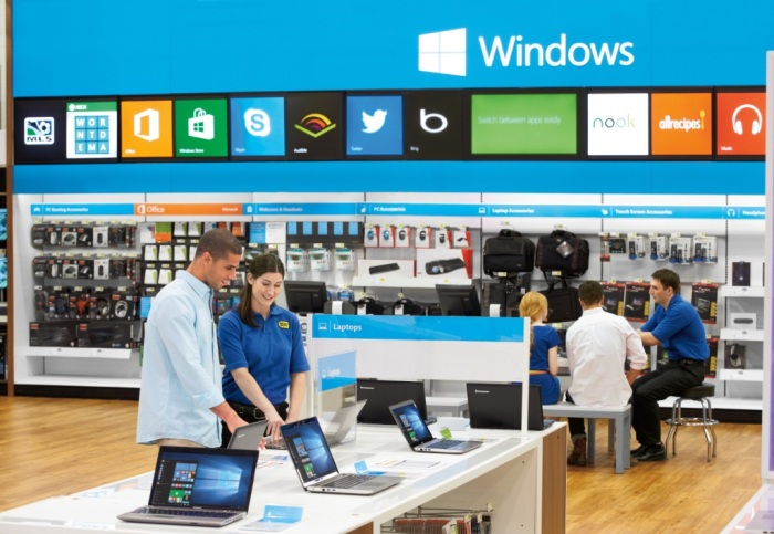 Windows 10 at Best Buy