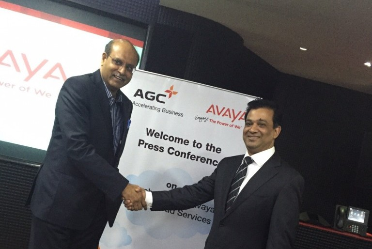 Anil Nair, Managing Director and CEO, AGC Networks and Priyadarshi Mohapatra, Managing Director, India and SAARC, Avaya