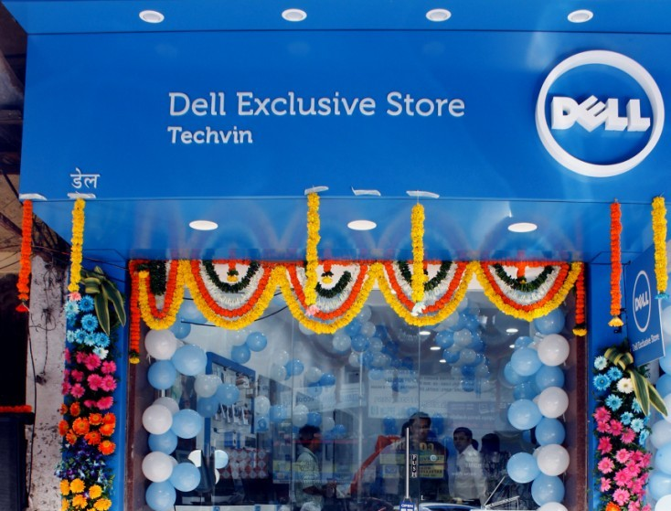 Dell shop in Mumbai