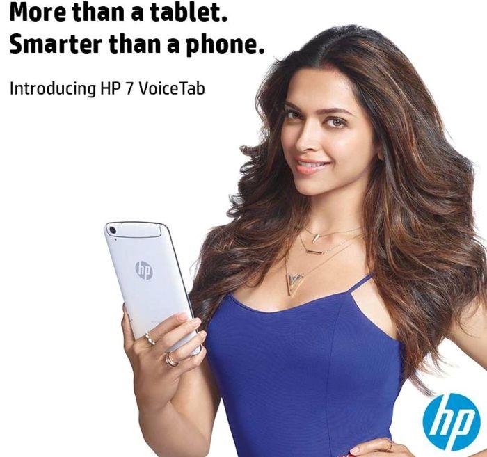 HP and Deepika Padukone
