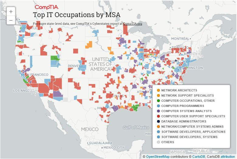 IT jobs in US