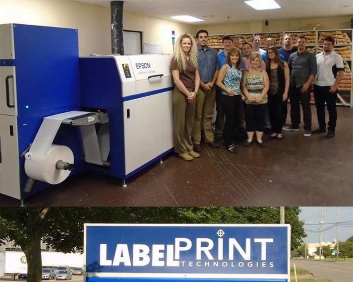 Label Print Technologies Installs Epson SurePress Digital Label Press